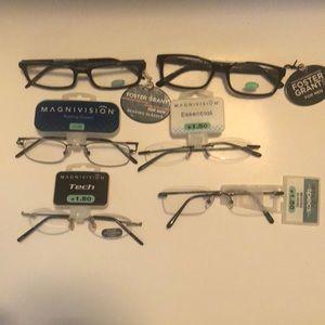 🔥2/$15 Men's Foster Grant Reader Glasses +1.50